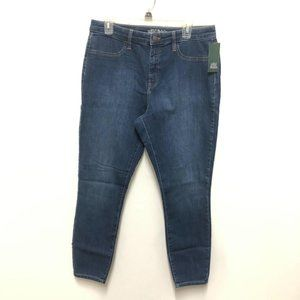 Wild Fable Medium Wash High Rise Skinny Jeans